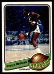 1979 Topps #125  George McGinnis  Front Thumbnail