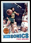 1977 Topps #30  Fred Brown  Front Thumbnail