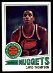 1977 Topps #60  David Thompson  Front Thumbnail