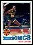 1977 Topps #99  Mike Green  Front Thumbnail