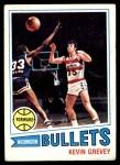 1977 Topps #23  Kevin Grevey  Front Thumbnail
