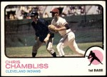 1973 Topps #11  Chris Chambliss  Front Thumbnail