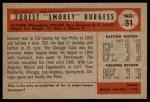 1954 Bowman #31  Smoky Burgess  Back Thumbnail