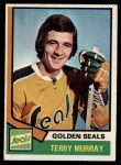 1974 Topps #126  Terry Murray  Front Thumbnail
