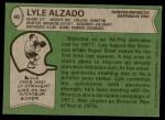 1978 Topps #40  Lyle Alzado  Back Thumbnail