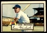 1952 Topps #178 CRM Cass Michaels  Front Thumbnail