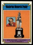 1974 Topps #243  Henri Richard  Front Thumbnail