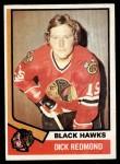 1974 Topps #186  Dick Redmond  Front Thumbnail