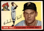 1955 Topps #126  Dick Hall  Front Thumbnail