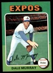 1975 Topps #568  Dale Murray  Front Thumbnail