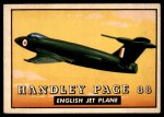1952 Topps Wings #117   Handley Page 88 Front Thumbnail