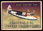1952 Topps Wings #174   Percival P.50 Prince Transport Front Thumbnail