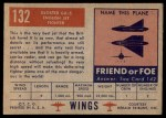 1952 Topps Wings #132   Gloster GA 5 Back Thumbnail