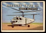 1952 Topps Wings #157   Breguet Type III Front Thumbnail