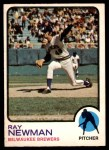 1973 O-Pee-Chee #568  Ray Newman  Front Thumbnail