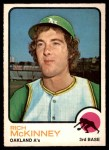 1973 O-Pee-Chee #587  Rich McKinney  Front Thumbnail