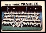 1973 O-Pee-Chee #556   Yankees Team Front Thumbnail