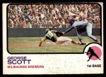 1973 O-Pee-Chee #263  George Scott  Front Thumbnail