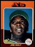 1975 O-Pee-Chee #607  Jim Holt  Front Thumbnail