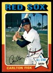 1975 O-Pee-Chee #80  Carlton Fisk  Front Thumbnail