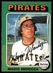 1975 O-Pee-Chee #457  Mario Mendoza  Front Thumbnail