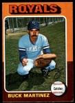 1975 O-Pee-Chee #314  Buck Martinez  Front Thumbnail