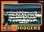 1975 O-Pee-Chee #361   -  Walter Alston Dodgers Team Checklist Front Thumbnail