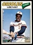1977 O-Pee-Chee #125  Lee May  Front Thumbnail