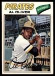 1977 O-Pee-Chee #203  Al Oliver  Front Thumbnail