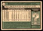 1979 O-Pee-Chee #163  Cecil Cooper  Back Thumbnail