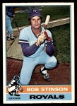 1976 O-Pee-Chee #466  Bob Stinson  Front Thumbnail