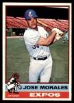 1976 O-Pee-Chee #418  Jose Morales  Front Thumbnail