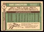 1976 O-Pee-Chee #48  Dave Concepcion  Back Thumbnail