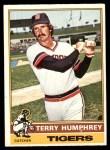 1976 O-Pee-Chee #552  Terry Humphrey  Front Thumbnail