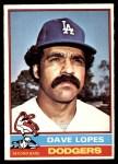 1976 O-Pee-Chee #660  Davey Lopes  Front Thumbnail