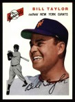 1954 Topps Archives #74  Bill Taylor  Front Thumbnail