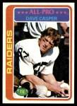 1978 Topps #50  Dave Casper  Front Thumbnail