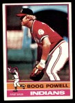 1976 Topps #45  Boog Powell  Front Thumbnail
