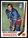 1969 Topps #39  Don Marshall  Front Thumbnail