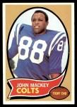 1970 Topps #62  John Mackey  Front Thumbnail
