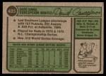 1974 Topps #435  Dave Concepcion  Back Thumbnail