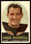 1958 Topps #46  Dale Dodrill  Front Thumbnail