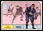 1968 Topps #129  Bob Pulford  Front Thumbnail