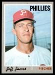 1970 Topps #302  Jeff James  Front Thumbnail
