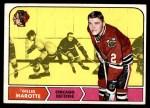 1968 Topps #14  Gilles Marotte  Front Thumbnail