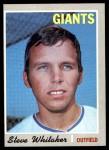 1970 Topps #496  Steve Whitaker  Front Thumbnail