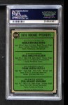 1974 Topps #599 WAS  -  Dave Freisleben / Ron Diorio / Frank Riccelli / Greg Shanahan Rookie Pitchers   Back Thumbnail