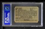 1952 Bowman Small #143  Johnny Papit  Back Thumbnail