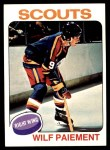 1975 Topps #195  Wilf Paiement   Front Thumbnail