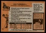 1975 Topps #41  Ian Turnbull   Back Thumbnail
